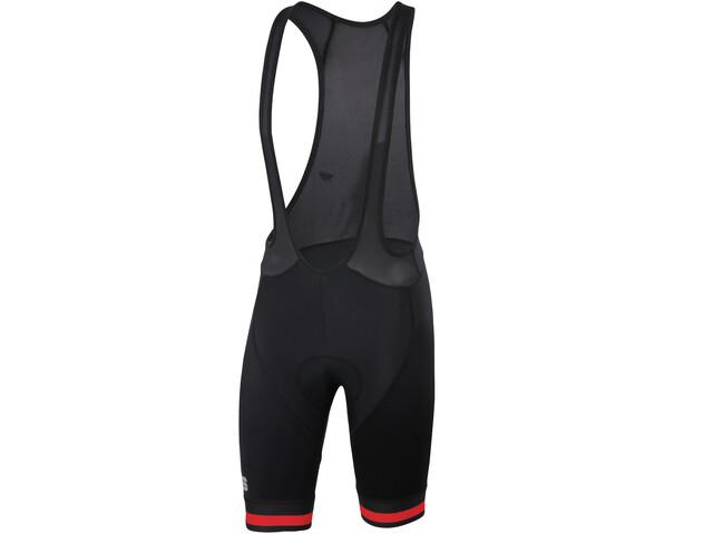 Sportful Bodyfit Team Classic Bib Shorts Herr röd/svart